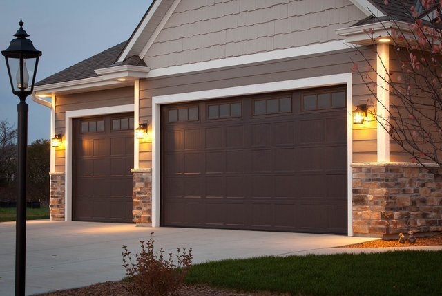 Home overhead garage door